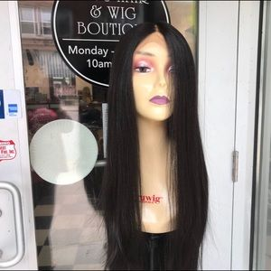 Accessories - Long Black lacefront wig 30+ inch long 2019 wig